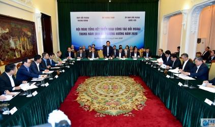 Tổng kết công tác phối hợp giữa ba cơ quan đối ngoại năm 2019