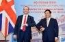 Phó Thủ tướng Phạm Bình Minh đón, hội đàm với Bộ trưởng Ngoại giao và Phát triển Anh Dominic Raab